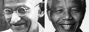 مانديلا ليس غاندي